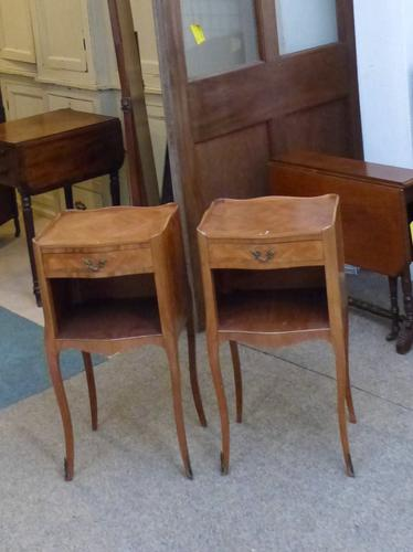 Pair of Bedside Tables c.1940 (1 of 1)