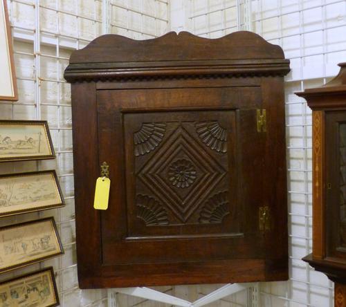 Georgian Cupboard c.1800 (1 of 3)