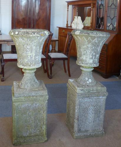 Pair of Garden Urns c.1940 (1 of 1)