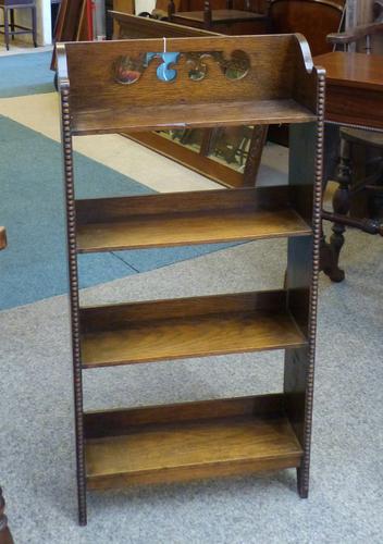 Small Oak Bookcase c.1900 (1 of 1)