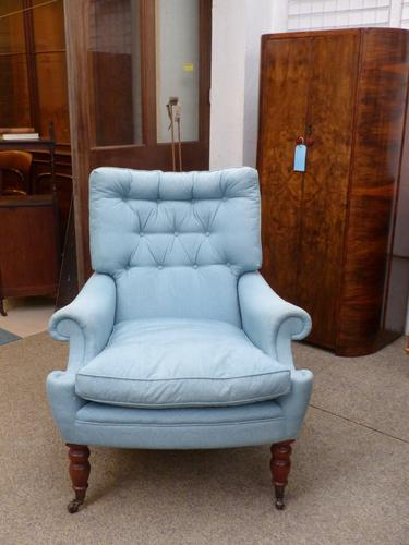 Victorian Style Armchair c.1950 (1 of 1)