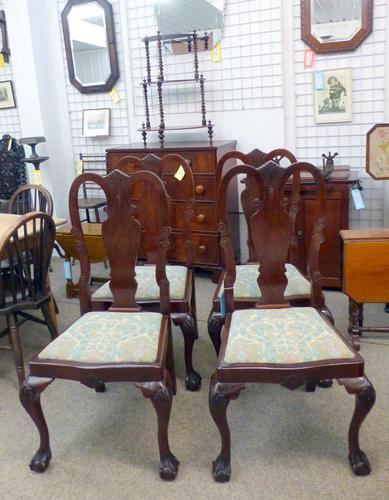 4 Dining Chairs c.1920 (1 of 1)