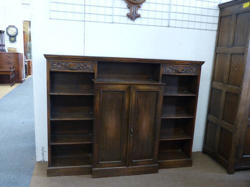 Oak Bookcase C.1940 (1 of 1)