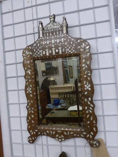 Small Indian Mirror c.1890 (1 of 4)