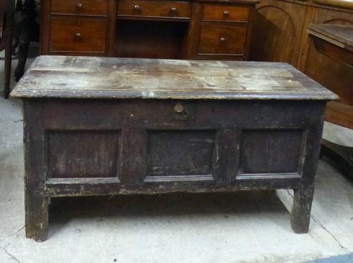 Antique Pine Coffer (1 of 1)