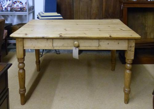 Pine Kitchen Table c.1920 (1 of 1)