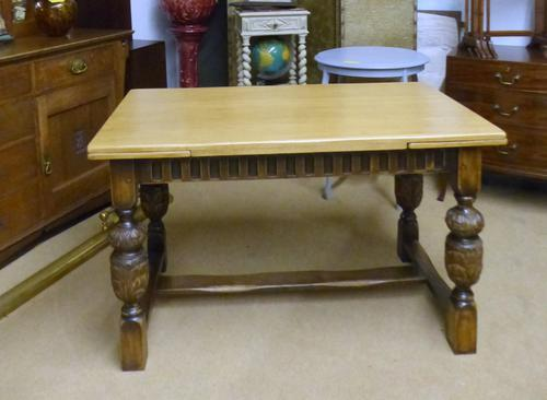Oak Dining Table c.1930 (1 of 1)