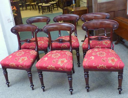 6 Antique Chairs c.1850 (1 of 1)