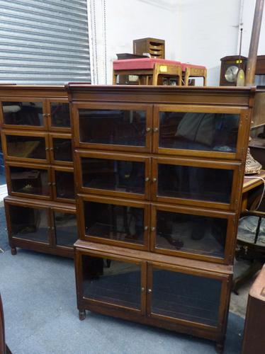 Pair of Minty Bookcases c.1920 (1 of 1)
