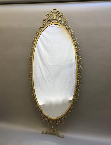 Large French Gilt Mirror c.1930 (1 of 12)