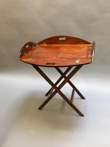 George III Butlers Tray on Stand (1 of 14)