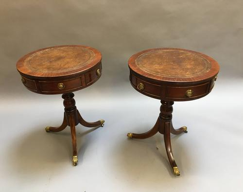 Pair of Georgian Revival Side Tables c.1920 (1 of 8)