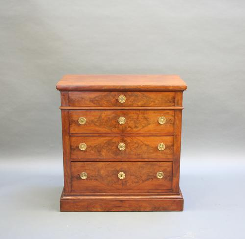 Louis Philippe Mahogany Commode Chest c.1850 (1 of 1)