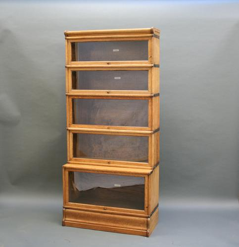 Globe Wernicke Oak Bookcase c.1920 (1 of 1)