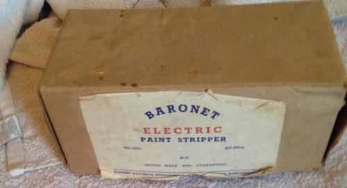 1950s Boxed Baronet Paint Stripper (1 of 2)