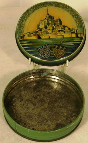 1960s Mont St Michel Confectionery Tin (1 of 1)