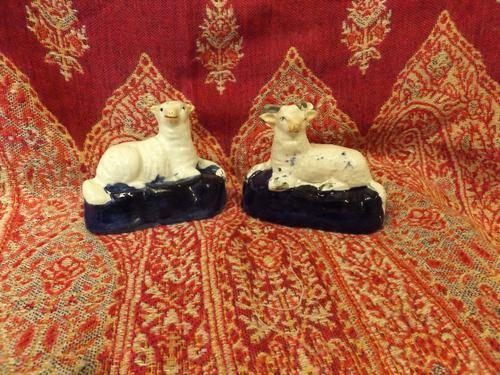 Pair of Staffordshire Figures C.1840 (1 of 1)