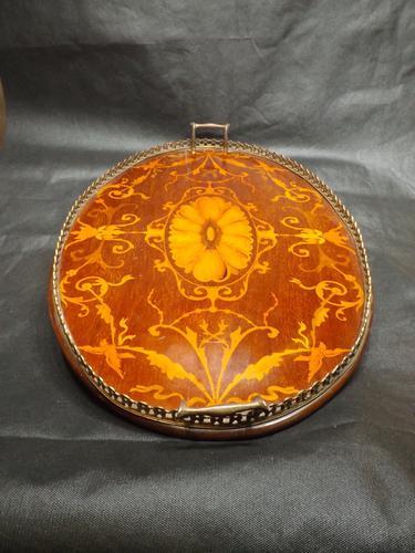 19th Century Mahogany Tray (1 of 1)