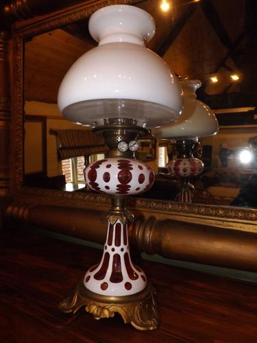 Victorian Duplex Oil Lamp (1 of 1)