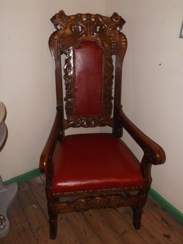 Victorian Carver Chair (1 of 1)