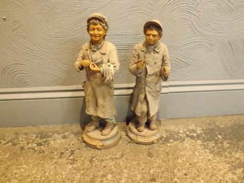 Pair of 19th Century Figures (1 of 1)
