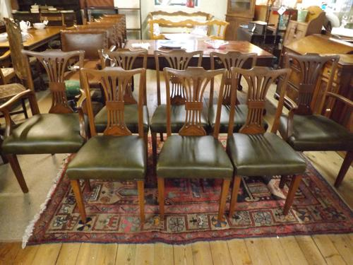 Set of Chippendale Style Dining Chairs (1 of 1)