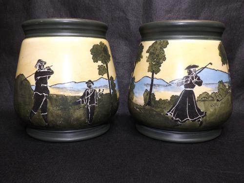 Pair of Art Deco Pots (1 of 18)