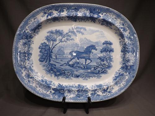 Copeland Spode Platter c.1840 (1 of 1)