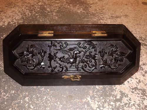 19th Centuey Candle Box (1 of 1)