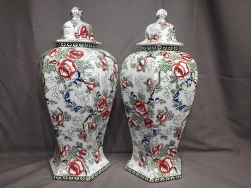 Pair of Leighton Vases C.1930 (1 of 1)