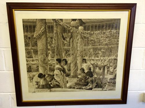 Photogravure of Caracalla & Geta: Bearfight in the Coliseum, A.D. 203, Arthur Tooth & Sons, C.1907 (1 of 9)