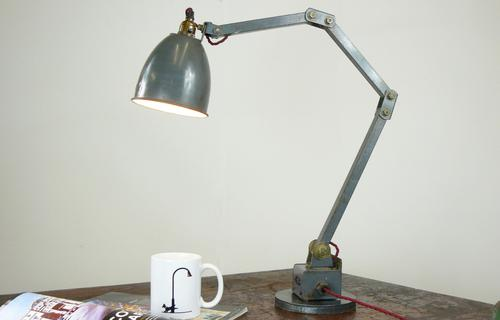 Good Vintage Industrial Memlite Desk Lamp 'We Have 2 Left (1 of 10)