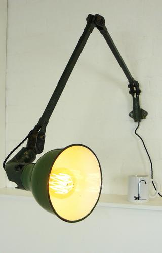 Mek Elek Vintage Industrial Workshop Lamp (1 of 9)