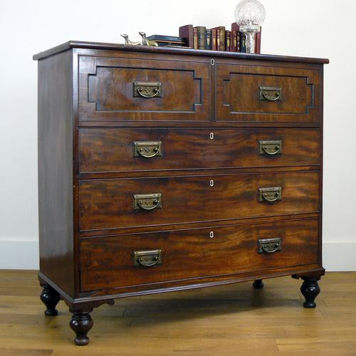 Handsome Antique William IV Chest of Drawers (1 of 17)