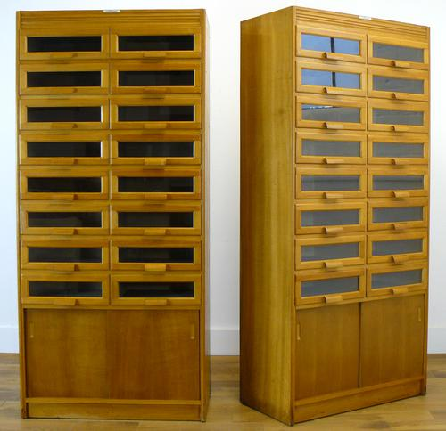 1940s Haberdashery Cabinets 16 Drawers 'we have 2' (1 of 13)