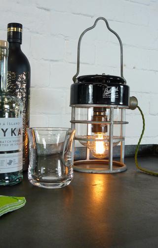 Marvellous Little Vintage Industrial British made Bullfinch Lamp (1 of 1)