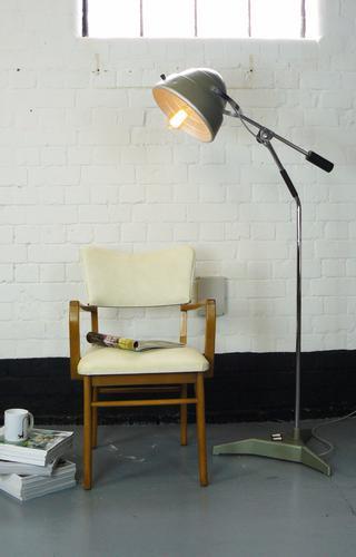 Stylish English Vintage Counterpoise Floor Lamp Ready to Enjoy (1 of 1)