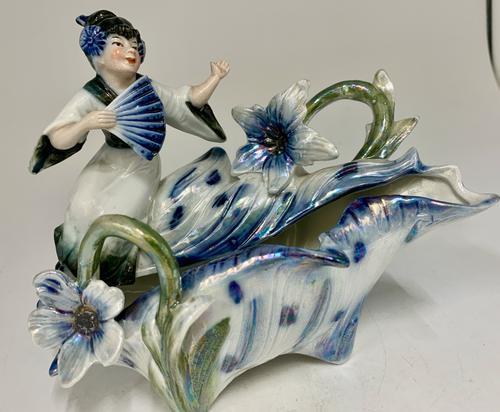 Art Nouveau Oriental Porcelain Figurine c.1895 (1 of 6)