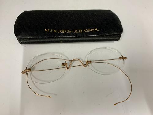 Antique Wire Rim Spectacles c.1905 (1 of 7)