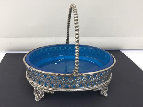 Victorian Silver Plated Sweet Dish c.1875 (1 of 1)