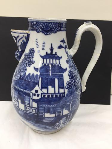 Antique Oriental Nankin Porcelain Jug c.1780 (1 of 1)