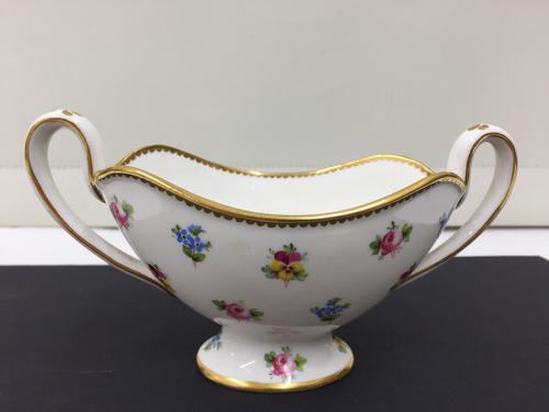 Antique Minton's Porcelain Two Handled Pedestal Dish c.1900 (1 of 1)