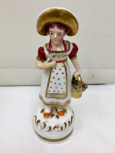 Antique Early English Porcelain Figurine (1 of 5)
