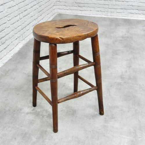 19th Century Country Stool (1 of 5)