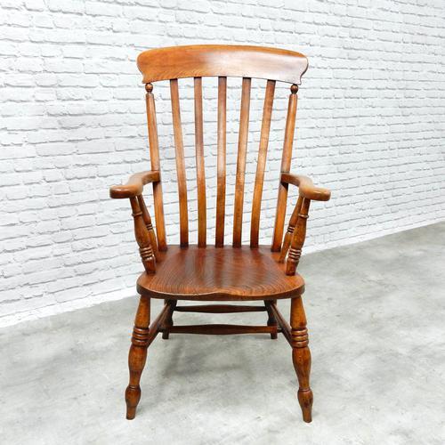 Large Windsor Lathback Armchair (1 of 6)