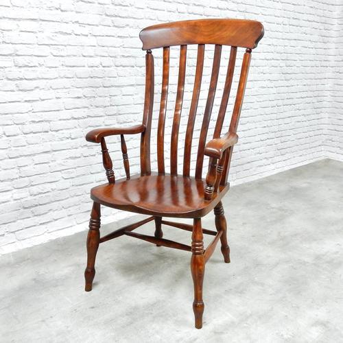 Large Windsor Lathback Armchair (1 of 5)