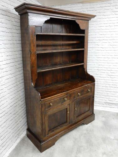 Antique Pine Kitchen Dresser (1 of 5)