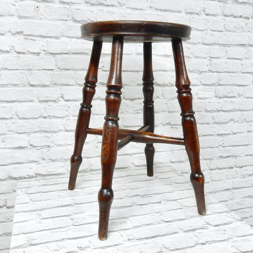 Antique Bar / Kitchen Stool (1 of 6)