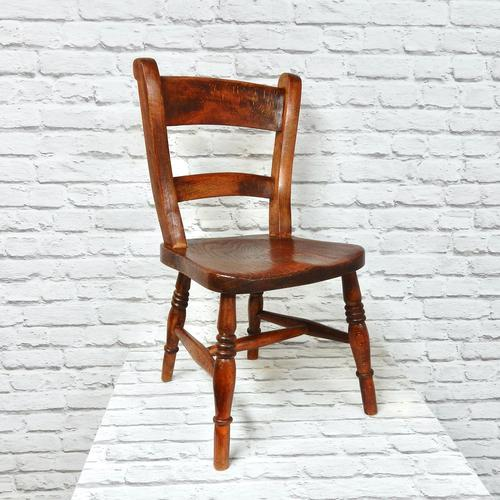 Antique Child's Barback Chair (1 of 4)