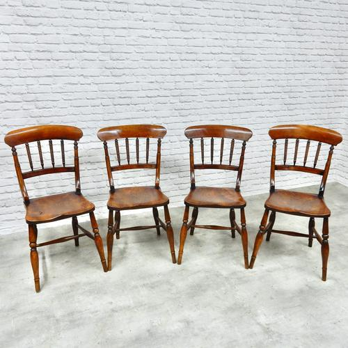 Set of 4 Windsor Kitchen / Dining Chairs (1 of 5)